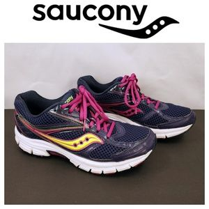 Saucony Cohesion 8 Women's SZ 9 Navy Running shoes